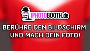 Fotobox Startbildschirm Startscreen Fortuna Düsseldorf Branding